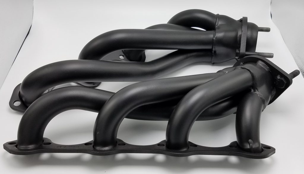 Mustang Headers Ceramic Glacier Black C-7600
