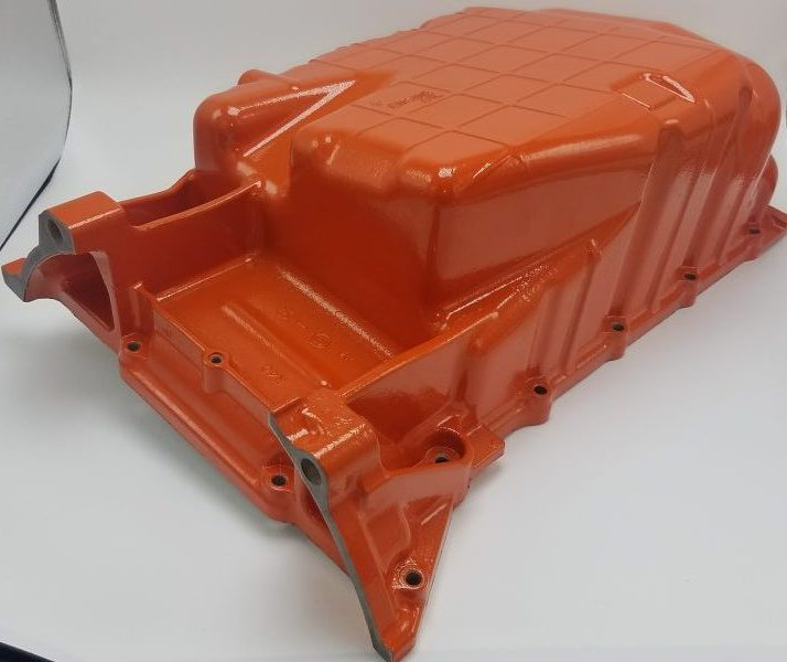 Honda Oil Pan Cast Aluminum - Hemi Orange PSB-5898