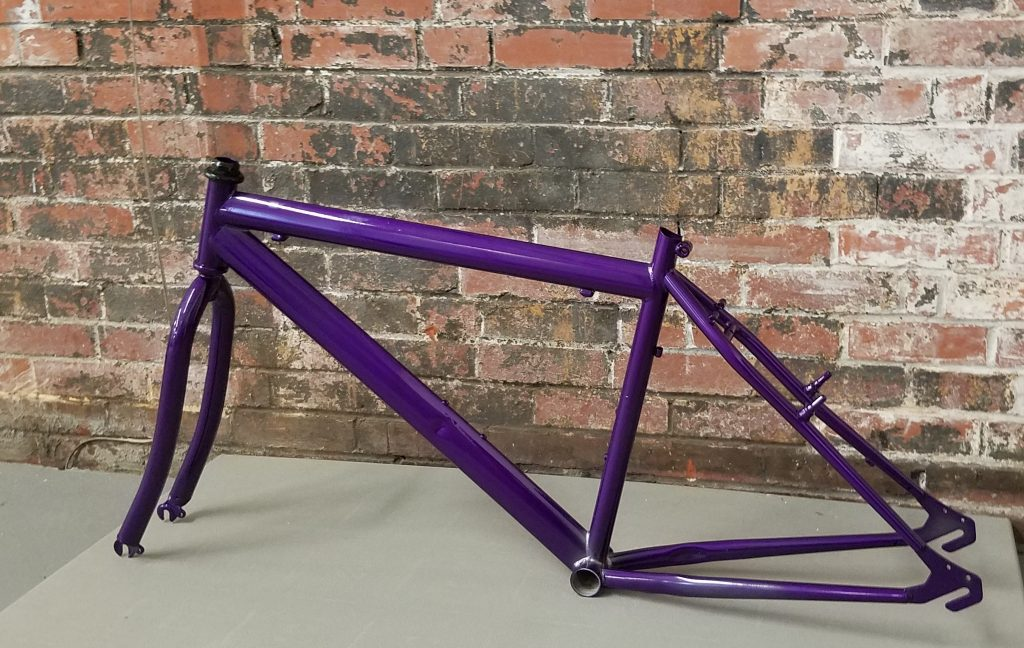 Bicycle - Illusion Violet PSS-4514 with Clear Vision  PPS-2974