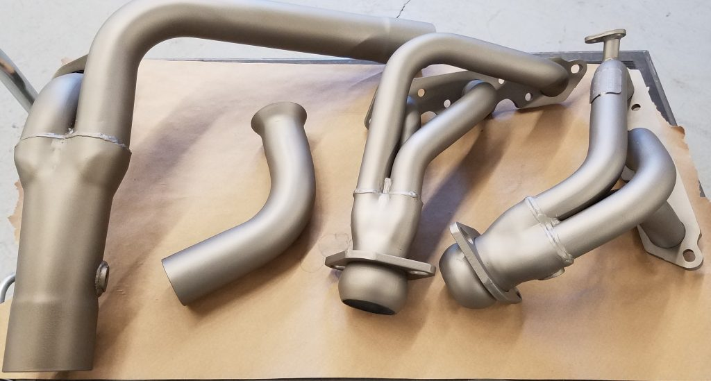 Camero Headers Ceramic Titanium C-105