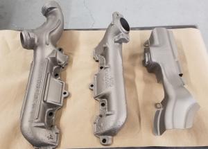Cast Manifolds Ceramic Titanium C-105