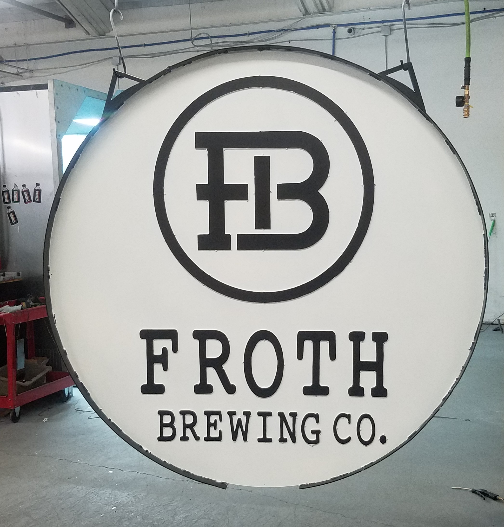 Froth Brewing Sign